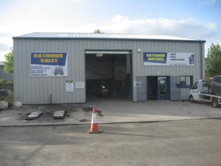 Rathmor Mot Services Motors Garage In Derry Londonderry Garages